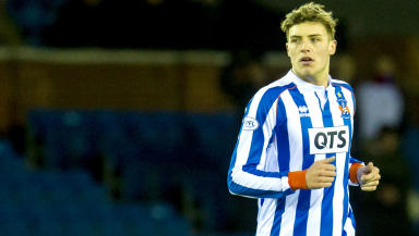 Robbie Muirhead in action for Kilmarnock