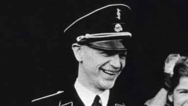Pieter Schelten Heerema Dutch Nazi SS war criminal BW image from 1942 Public domain image from Wikipedia