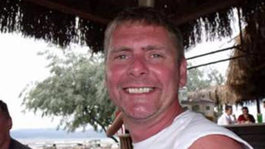 Jim Irvine who died diving at Lower Largo, Leven, Fife on March 24, 2011. Family collect.