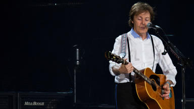 McCartney: Playing three UK concerts (file pic).