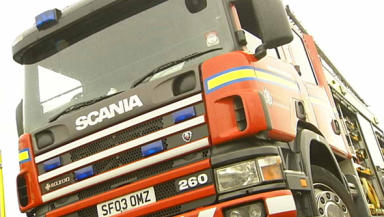 Fire crews: Attended the blaze in Aberdeenshire.
