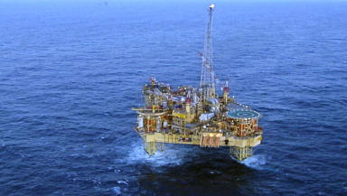 Elgin Platform: Two-mile exclusion zone set up.