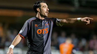Manuel Pascali in action for Kilmarnock.
