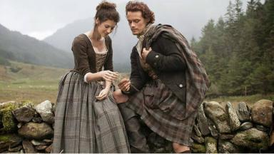 Outlander: The show's stars will be in Glasgow this week.