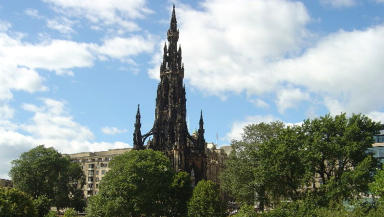 Landmark: The Scott Monument is one of Edinburgh's most iconic attractions.