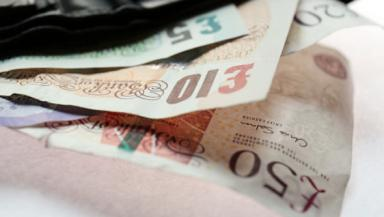 Banknotes money cash finance, nbanking quality news image uploaded April 27 2015. Pic from PA