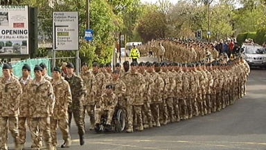 3 Rifles: 450 soldiers from the battalion are heading out to Afghanistan.