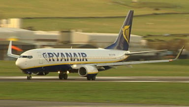Ryanair: The airline is expected to announce more cuts at Edinburgh airport.