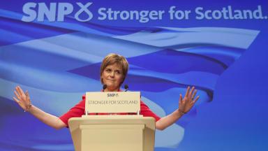 Debate: SNP members gather in Edinburgh (file pic).