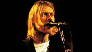 Nirvana front man Kurt Cobain.
