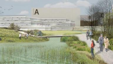 Pentlands Studio: Artist's impression of the planned complex.
