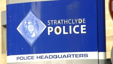 Strathclyde Police: The force confirmed the arrest of the serving officer.