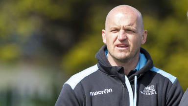 Gregor Townsend saw his Glasgow side draw in Swansea.