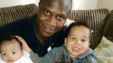 Family: Mr Bayoh was a father-of-two.