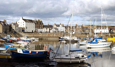 Stonehaven: Alleged incident happened on High Street near harbour.