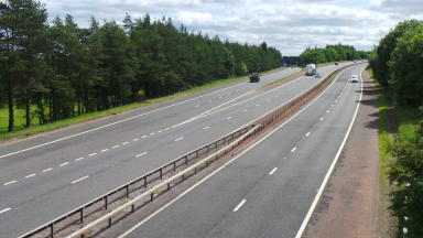 M9 crash scene John Yuill and Lamara Bell taken by Danny Livingston uploaded with permission July 9 2015
