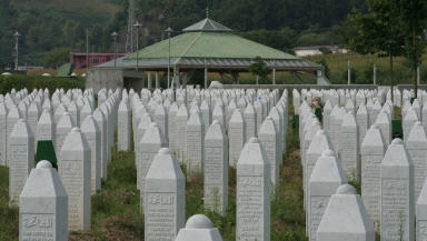Srebrenica: Victims of genocide remembered.