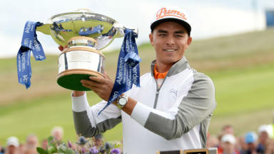 Rickie Fowler: Former Scottish Open champion.