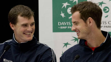 Jamie and Andy Murray have been honoured by the tournament organisers.