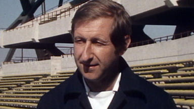 Ally MacLeod former Scotland manager archive picture from 70s STV used in Local Heroes broadcast from 1996 News image from broadcast uploaded July 21 2015