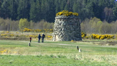 Culloden: The backdrop for a large-scale arts event.