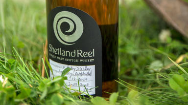 First whisky bottled in Shetland by the Shetland Distillery Company on Unst. Free to use, uploaded August 12 2015