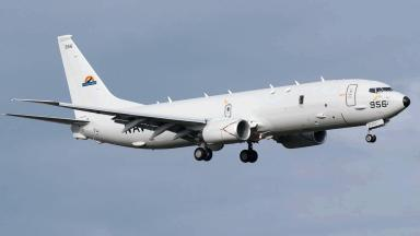 P8 Poseidon: Lossiemouth getting £400m upgrade for new planes (file pic).