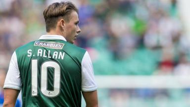 Scott Allan, Hibernian, Rangers