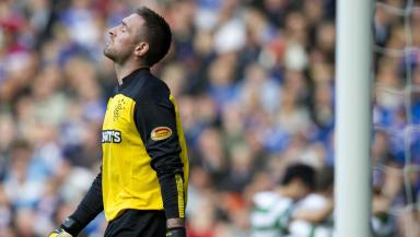 Rangers goalkeeper Allan McGregor.