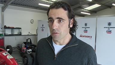 Dario Franchitti Nascar racing driver STV interview from broadcast uploaded September 22 2015