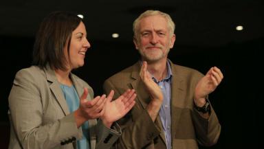 Jeremy Corbyn: 'It's her choice to go on I'm A Celebrity.'