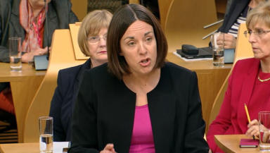 Votes: The poll found 19% of voters over 60 intend to vote for Kezia Dugdale.