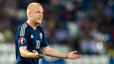 Freebie: Steven Naismith has apparently said he will play for nothing.