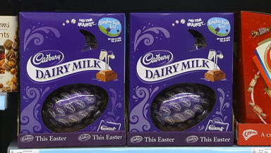 Dairy Milk: Remorseful thief left gift for victim.