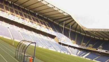 Rugby ground: Edinburgh politicians wants Murrayfield to be considered for the Hearts v Hibs final