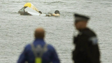 Super Puma: Crash near Shetland in 2013 (file pic).