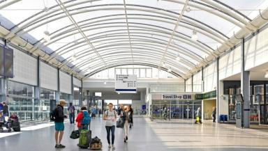 New look Haymarket station scoops top engineering award. Pics sent from Orbit PR.