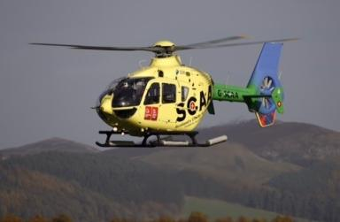 Schiehallion: Air ambulance called out to hillwalker (file pic).