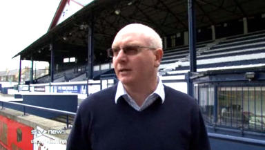 Drop scrap: John McGlynn wants to lead Raith Rovers to safety