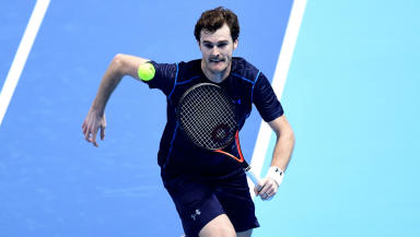 Success: Murray has won his fifth Grand Slam title.