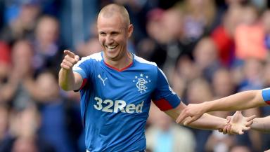 New deal: Former Scotland internationalist Kenny Miller extends stay in Glasgow.