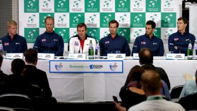 Leon Smith has named his team for the Davis Cup final