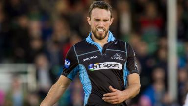 Mike Blair in action for Glasgow Warriors