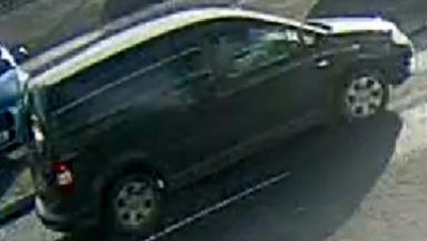Volkswagen van: The vehicle was seen just before a Kirkcaldy bank robbery.