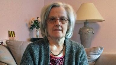 Former prescription drug addict Fiona French. French was first prescribed the tranquilliser nitrazepam in 1975. Uploaded from STV photo November 18 2015