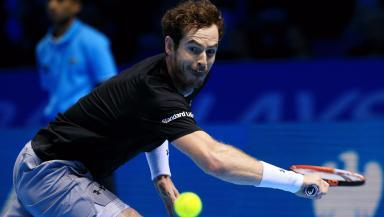 Andy Murray lost out at Rafael Nadal at the O2.