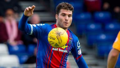 Suspended: Dani Lopez played for the Inverness youth side on Tuesday.