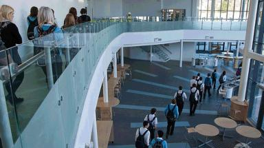 Elgin Academy: Pupils moved in at the new school this week.