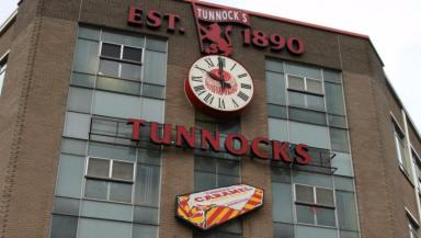 Tunnock's: The caramel wafers proved more popular than a laptop, mobile phone and projector.