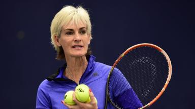 Judy Murray: Tennis coach honoured at awards ceremony in Glasgow.